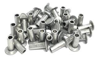 Rebite Para Lona De Freio 4x6 Aluminio 1000 Unidades