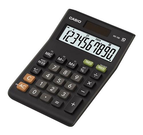 Imagen 1 de 1 de Calculadoras De Escritorio Casio Ms-10