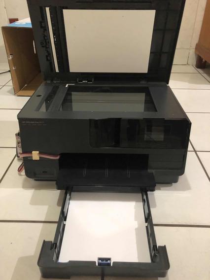 Impressora Hp 8610 Com Bulk Instalado.