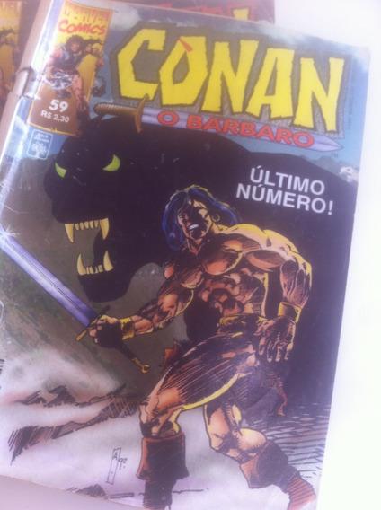 Conan O Bárbaro   Gibi/coleção   1993   Lote: Com 41 Gibis