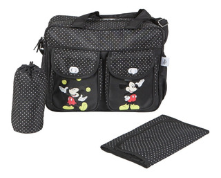 Bolso Maternal Disney Cambiador Disney Mickey Minnie 2021