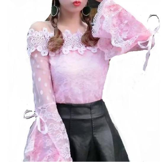Camisa Blusa Social Moda Feminina Manga Longa Luxofoto Real