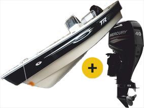 Lancha Tracker Trakker 520 Pescador C/mercury 40 Hp 4 Tiempo