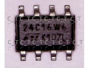 Memoria Eprom Soic 8 24c16 - 3 Unidades