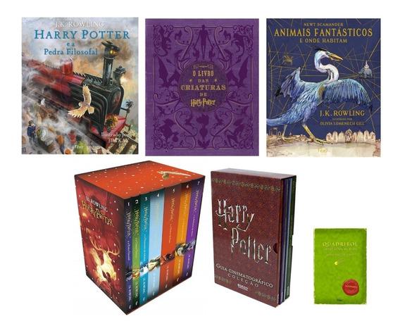 Coleção - Harry Potter (luxo) + Brinde