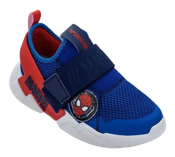 Tênis Infantil Masculino Grendene Marvel Homem-aranha