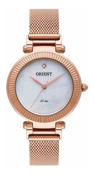Relógio Orient Feminino Analógico Rosé Frss0023 B1rx