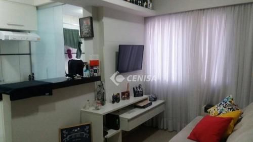 Imagem 1 de 30 de Apartamento Com 2 Dormitórios À Venda, 55 M² Por R$ 234.000 - Parque São Lourenço - Indaiatuba/sp - Ap0933