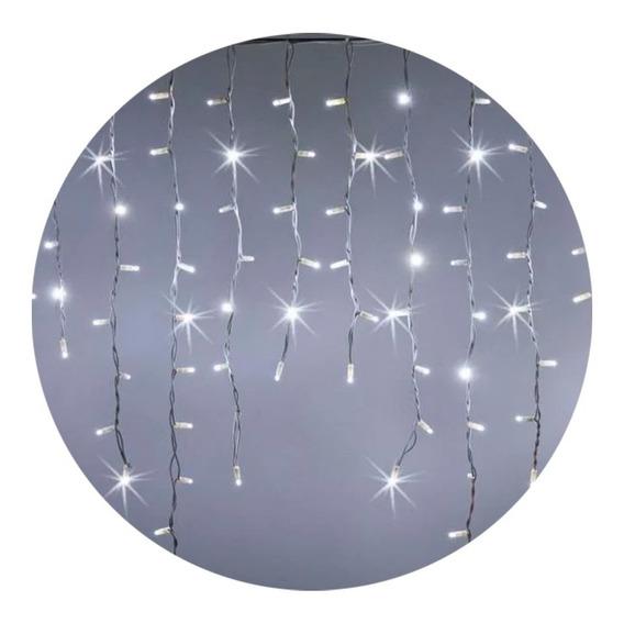 Luces Led Navidad Lluvia X100 Luces 300x60 Cm