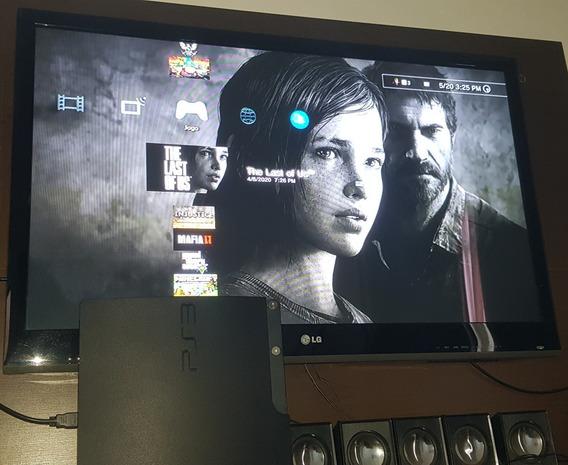 Ps3 Playstation 3 Slim Bloqueado Leia A Descrição