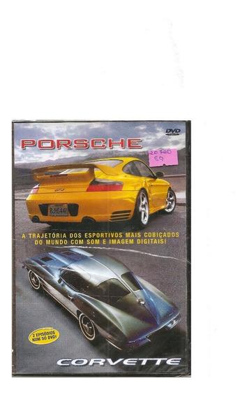 Dvd Revista Dvd Total Porsche / Corvette