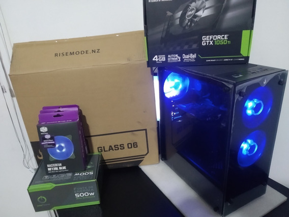Pc Gamer G4560 3.5ghz/ Gtx 1050ti 4gb/ 8ram Ddr3/ 500gb Hd/