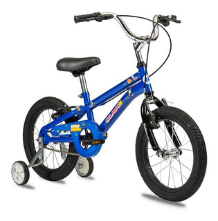 Bicicleta Infantil Olmo Cosmo Nautas Rodado 16 Nene Acero