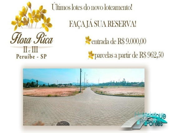 Terreno No Bairro Flora Rica Em Peruíbe - Te00093