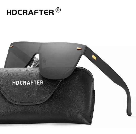 Óculos De Sol Piloto Hdcrafter Tendência Uv400