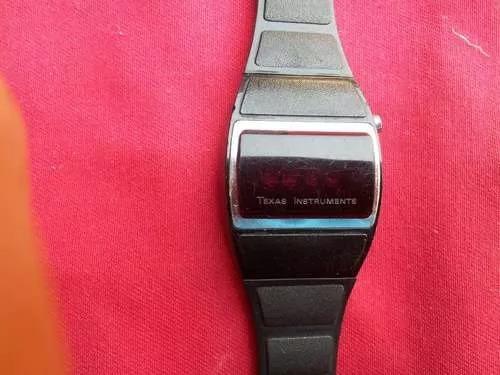 Reloj De Pulsera Texas Instruments Leds