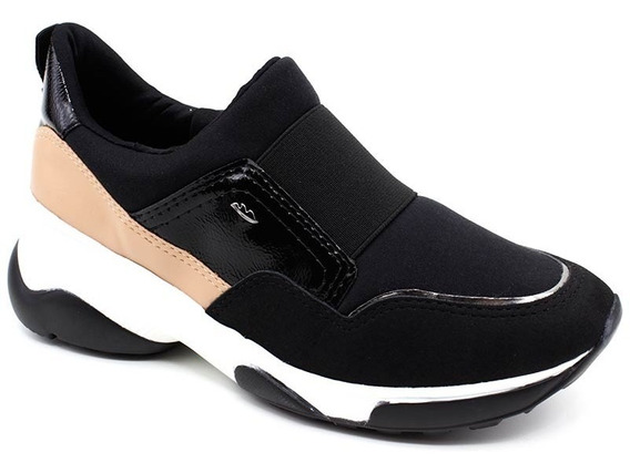 Tênis Feminino Dakota Slip On G2482 Preto