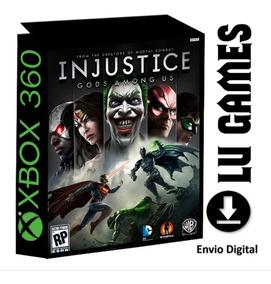 Injustice Gods Amongus (midia Digital) Xbox 360