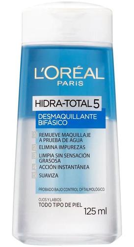Desmaquillante Bifásico - Hydra Total 5 - L´oreal