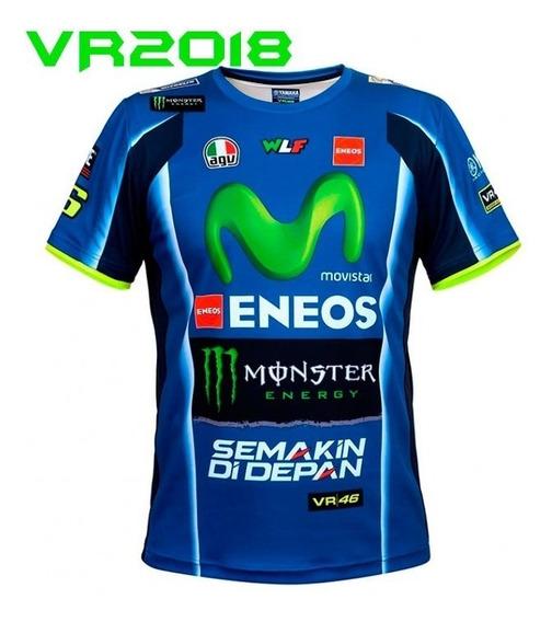 Franela Valentino Rossi Vr46 Camiseta 2017
