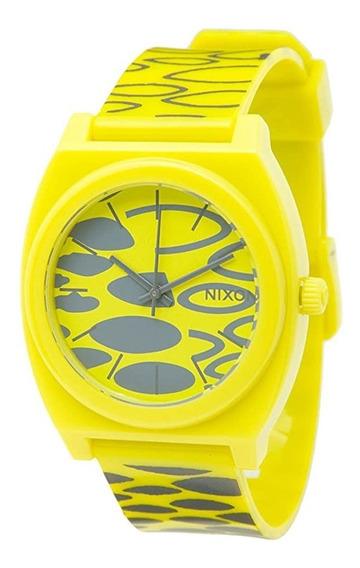 Relógio Nixon Timer Teller P Citron Wildside