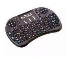 Mini Teclado Touchpad Sem Fio Para Smart Tv Ps3 Xbox Netflix