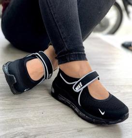 bacbcad4 Zapatos De Mujer Deportivos Color Negro - Zapatos en Mercado Libre ...