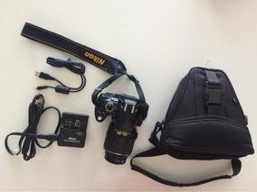 Câmera Nikon D5000 Com Lente Zoom 18-55mm