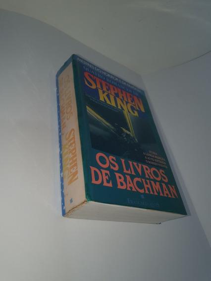 Os Livros De Bachman - Stephen Kink (raridade)