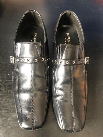 Zapatos Priamo Italy Con Hebilla N 42 Muy Buenos!