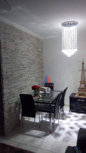 Apartamento Com 2 Dormitórios À Venda, 52 M² Por R$ 220.000 -  Cond. Resid. Treviso - Parque Planalto - Santa Bárbara D'oeste/sp - Ap1060