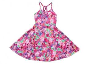 Vestido Alenice Flores - 6 Anos - Montamos Kits Exclusivos