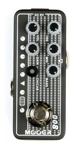 Pedal De Guitarra Pré Amp Mooer Cali-mk3 M008