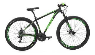 Bicicleta Aro 29 Trust 21 Velocidades Shimano + Brinde