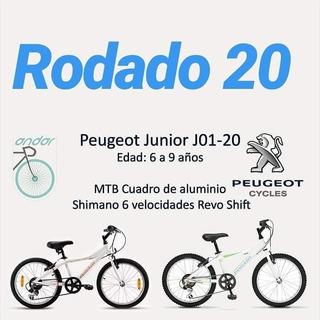 Biclicleta Peugeot Junior Rod 20