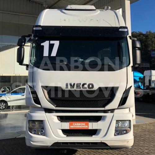 Imagem 1 de 8 de Iveco Hi Way 600s44 6x2, Ano 2016/2017
