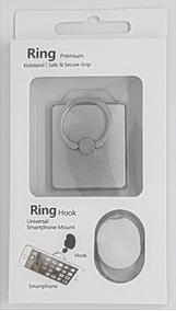 Suporte Anel Ring Premium Prata