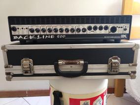 Cabeçote Gallien Krueger Blackline 600+case+fonte
