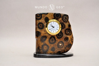 Mineral Reloj De Estromatolito Grande