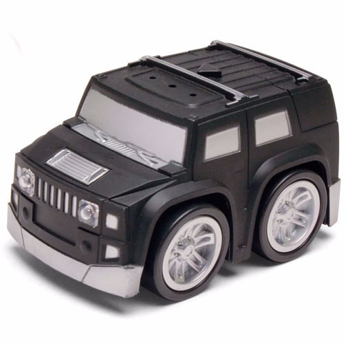 Carrinho Mini Turbo Jeep Hummer Preto Dtc
