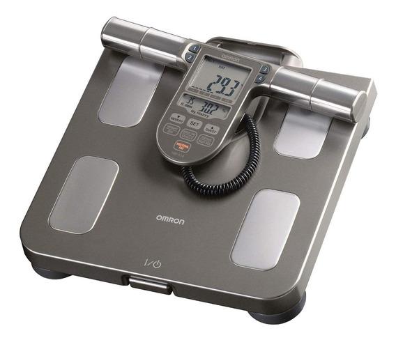 Balança corporal digital Omron HBF-514C cinza