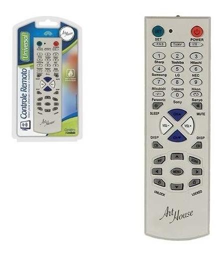 Kit C/5 Controle Remoto Universal P/ Tv De Tubo / Led / Lcd