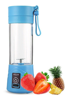Kit 25 Mini Liquidificador Portátil Squeez Garrafa C Juice