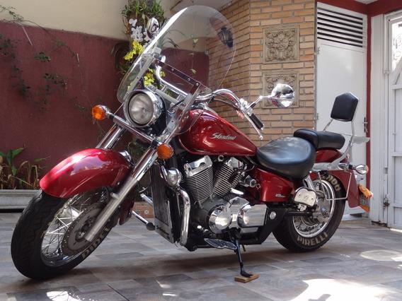 Shadow 750 Vermelha Honda 52 Mil Km - Clássica
