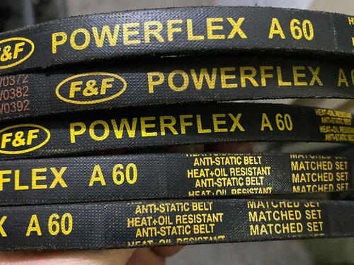 Correas Industriales A-60 Powerflex