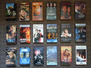 Películas Vhs Nuevas Y Seminuevas, Originales,varios Géneros