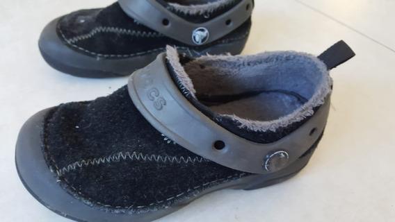 Zapato Croc Invierno Niño Talle 28 Buen Estado