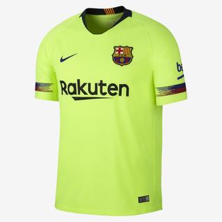 Camisa Nike Barcelona Ii Original Amarelo - 2018/19