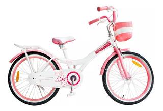 Bicicleta Royal Baby Jenny Rodado 20 Aluminio Niña Nena Gm