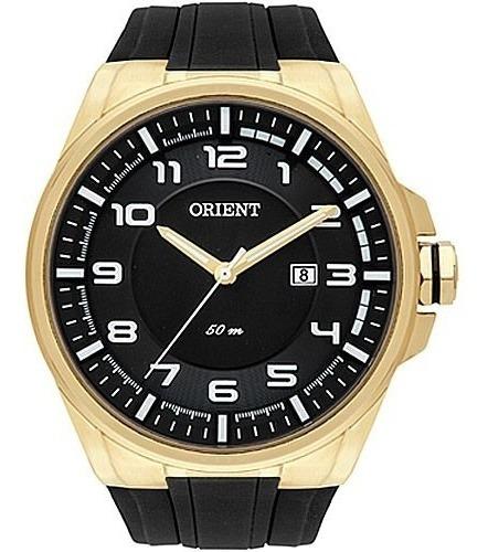 Relógio Orient Mgsp1003 Dourado Masculino Linha Sport